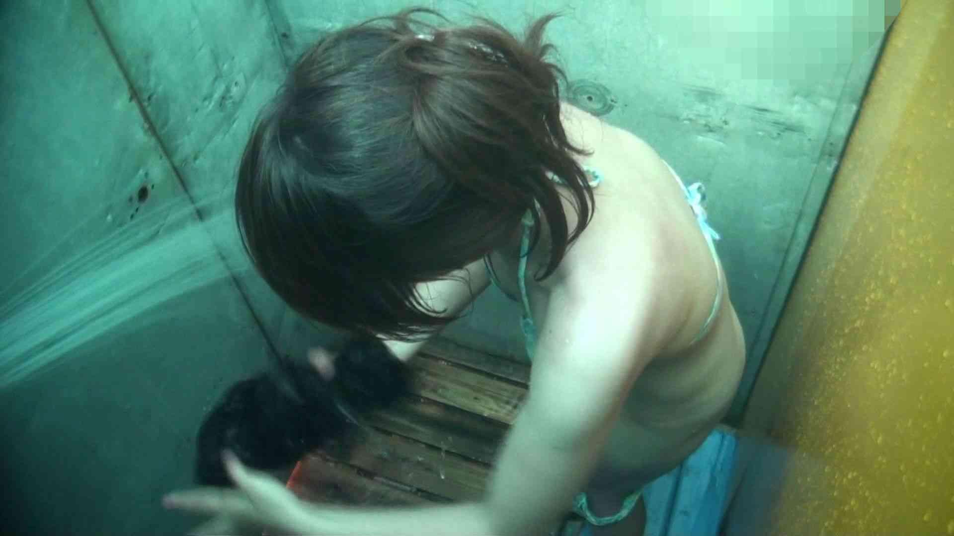 シャワールームは超!!危険な香りVol.15 残念ですが乳首未確認 マンコの砂は入念に