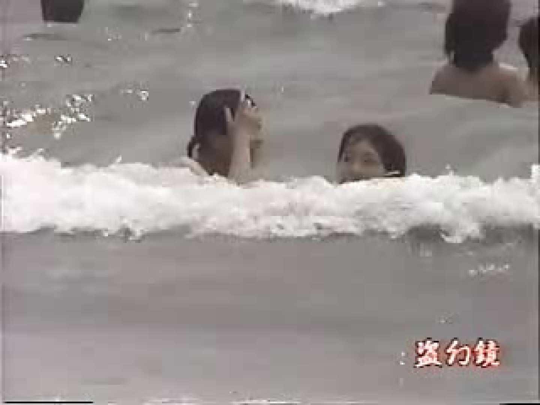 透ける海水浴場